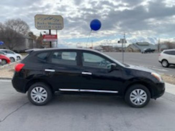 2013 Black Nissan Rogue (JN8AS5MT3DW) with an 4-Cyl 2.5 Liter engine, Automatic, CVT transmission, located at 767 S State Road, Pleasant Grove, UT, 84062, (801) 785-1058, 40.352489, -111.732628 - Photo #0