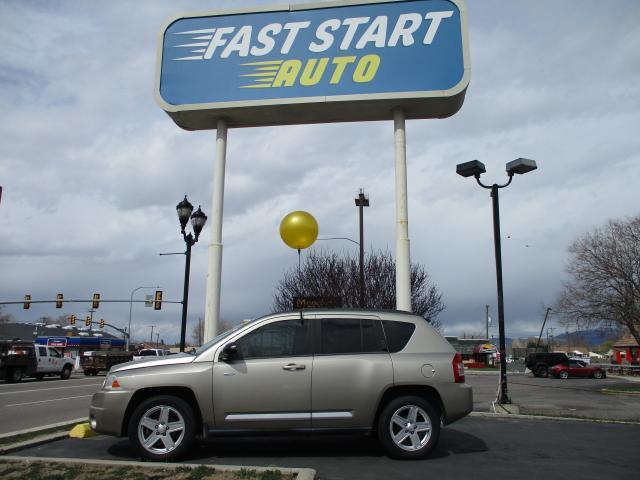 2010 Beige Jeep Compass (1J4NT1FBXAD) with an 4-Cyl 2.4 Liter engine, Automatic, CVT w/Overdrive transmission, located at 344 Washington Road, Ogden, UT, 84404, (801) 399-1799, 41.257221, -111.969597 - Photo #0